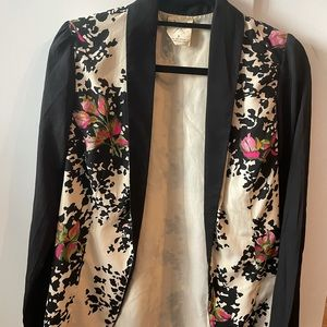 Urban Outfitters floral print blazer